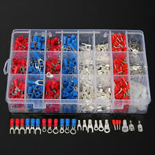 1000pcs Electrical Wire Spade Connector Insulated Crimp Terminals Assortment Set