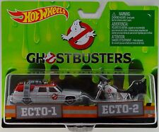 2016 Hot Wheels Entertainment 2 Pack: Ghostbusters ECTO-1 & ECTO-2 New Movie Car