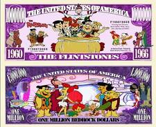 LES PIERRAFEU BILLET MILLION DOLLAR! Série Dessin Animé Hanna Barbera Flintstone