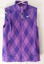 NEW Nike Sport Golf Thermal Vest, Purple, Size M