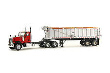 "Caterpillar CT680 Truck w/ East Dump Trailer - ""RED"" - 1/50 - WSI #39-1001"