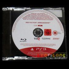 RED FACTION ARMAGEDDON PS3 Versione Promo Europea gioco completo ••••• USATO