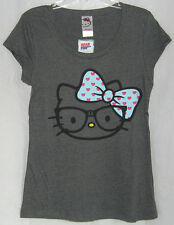 Hello Kitty NERDY TEE SCOOP NECK NICE VALENTINE GIFT FREE SHIPPING XSMALL NWT