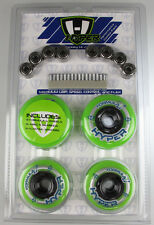 HYPER HOCKEY Inline Skate 8 Wheels Hi/Lo 72mm/80mm With Bearing Combo #130510
