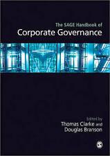 The Sage Handbook of Corporate Governance by SAGE Publications Ltd (Hardback, 20