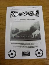 15/08/2013 The Football Traveller Magazine: Volume 27 Issue 03 - Cover Pictures