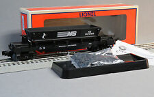 LIONEL NORFOLK SOUTHERN OPERATING COAL DUMP CAR o gauge train ns 6-82068 NEW