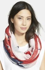 Collection XIIX 'Stars & Stripes' Infinity Scarf///