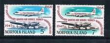 Norfolk Is 1968 Quantas Air Services SG 96/7 MNH