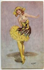 ILLUSTRATEUR GAYAC . LA DANSEUSE . MUSIC HALL .CHARME . NU .EROTIQUE .