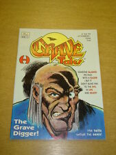 GRAVE TALES #1 FN (6.0) OCTOBER 1991 HAMILTON HORROR MAGAZINE (B)