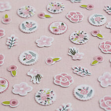 Table Confetti - Pretty Floral Vintage Tea Party/Wedding/Birthday Decoration