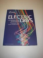 Dossier de presse EDF ELECTRIC DAYS mini panneau solaire USB batterie