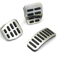 Car Clutch Gas Brake pedal Cover for Volkswagen VW Polo New Bora Stainless steel