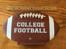 History of College Football shaped like a Football, Notre Dame, Michigan, USC,