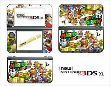 SKIN STICKER - NINTENDO NEW 3DS XL -  REF 177 SUPER MARIO LAND 3D