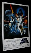 """Original 27"""" X 41"""" 1 sheet ROLLED 1977 STAR WARS Style C Scratched Plate Version"""