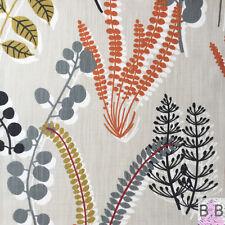 Scandinavian Floreale Tessuto Resti 35x35cm Arancione Cachi Marimekko guarisce era