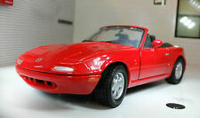 G LGB 1:24 Scale Diecast V Detailed Mazda MX5 Coupe Convertible Miata Motormax