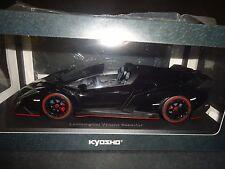 Kyosho Lamborghini Veneno Roadster Black 1/18