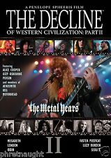 THE DECLINE OF WESTERN CIVILIZATION PART II: THE METAL YEARS DVD