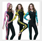 Women Anti-uv Diving Suit  One-Piece Swimming Wetsuit Warm Snorkeling Clothing