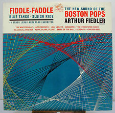"12"" 33 RPM MONO LP - RCA RED LM-2638 - ARTHUR FIEDLER BOSTON POPS FIDDLE-FADDLE"