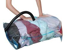 10 X  LARGE VACCUM COMPRESSED STORAGE SPACE SAVER BAGS 50 X 70 CM-uk seller