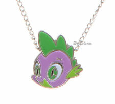 NEW My Little Pony SPIKE BABY DRAGON Pendant Silver Tone Necklace FREE SHIPPING