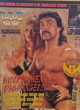 WWF Magazin 08/96 WWE Wrestling deutsch Sable Rena Mero Undertaker