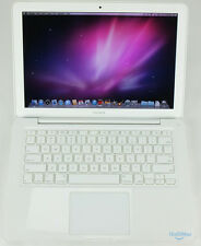 "Apple White MacBook Unibody 2010 13"" 2.4GHz 250GB HD 2GB RAM MC516LL/A +Warranty"