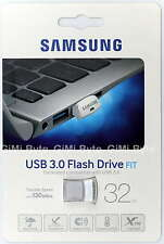 Samsung 32GB MUF-32BB USB 3.0 Flash Drive Memory Stick 130MB/S Silver Fit 32G