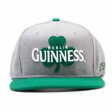 Official Guinness - Shamrock - Grey Snapback Baseball Cap