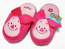 Piglet Pink Slippers #E Winnie Pooh US Size 5-9, UK 3-7, EU 34-40