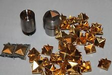 6mm carré pyramide rivets setting tool die moule pour presse à main oeillet machine
