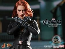 Black Widow Avengers Movie Masterpiece 12 inch Figure Hot Toys Used