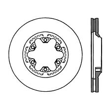 Disc Brake Rotor-High Performance Slotted Centric 126.66056SL