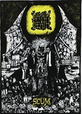 NAPALM DEATH BACKPATCH / SPEED-THRASH-BLACK-DEATH METAL