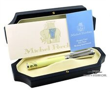 Michel Perchin South Beach LE Pastel Yellow Fountain Pen #09/10 EXTREMELY RARE