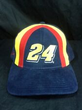 Jeff Gordon Hat Nascar Racing Snapback #24 Embroidered Signature Chase Authentic