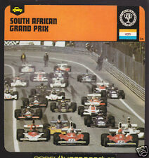 SOUTH AFRICAN GRAND PRIX Africa Car Race Circuit CARD