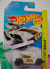 Case A 2015 Hot Wheels BULL WHIP #100∞White/Gold; brown 52∞Test Facility