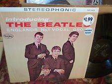 Introducing The Beatles Stereophonic Vee Jay SR 1062 NM Shrink HYPE Sticker LP !