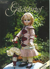 Gildebrief 3/2004 Dollmaking Antique Dress Patterns Steiner, Knitting Nancy