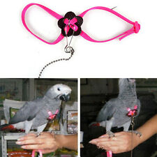 Parrot Adjustable Bird Harness and Leash Anti-bite Multicolor Light Soft FG