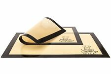"SET OF TWO Non-Stick Heat Resistant Silicone Baking Mat Liner Sheet 18"" X 13"""