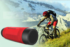 Zealot Outdoor Wireless Bluetooth Bicycle Riding Speaker for iphone Samsung Red