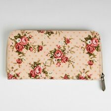 Sass and Belle Wallet/Purse - Lady Antoinette Floral design zip up purse