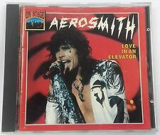 AEROSMITH -  LOVE IN AN ELEVATOR  - CD - 1933 - ON STAGE RECORDS RARE !!!