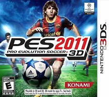 PES Pro Evolution Soccer 2011 [Nintendo 3DS, NTSC, Sports Video Game] Brand NEW